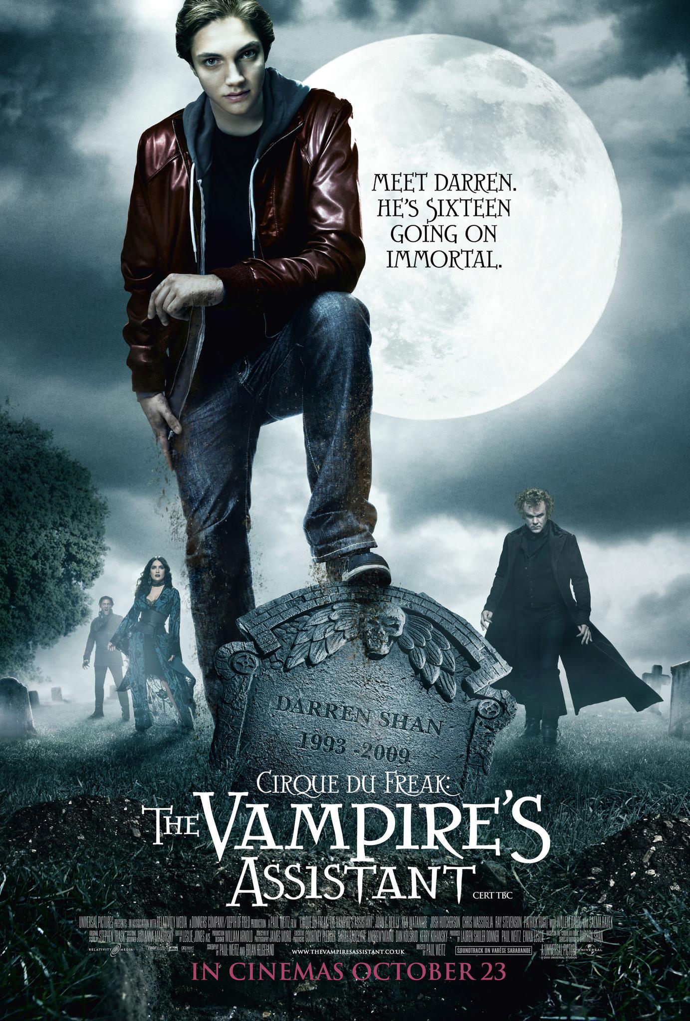 image Cirque du Freak: The Vampire's Assistant Watch Full Movie Free Online
