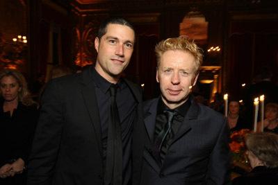 Matthew Fox and Pete Travis at Vantage Point (2008)