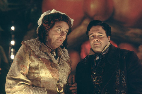 Dame Edna (BARRY HUMPHRIES) and Nathan Lane