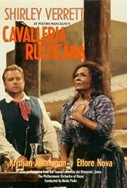 Cavalleria rusticana Poster