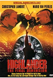 Highlander: The Final Dimension Poster