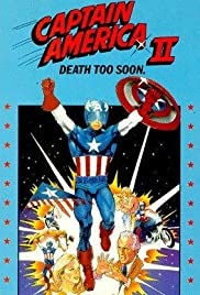 Captain America II: Death Too Soon (1979) Poster - Movie Forum, Cast, Reviews
