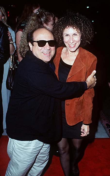 Danny DeVito and Rhea Perlman at The Crossing Guard (1995)