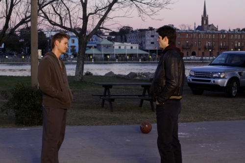 James Lafferty and Chad Michael Murray in One Tree Hill (2003)