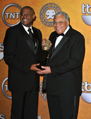 James Earl Jones and Forest Whitaker