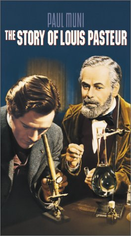 Josephine Hutchinson, Paul Muni, and Donald Woods in The Story of Louis Pasteur (1936)
