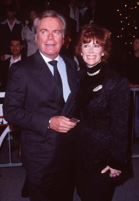 Jill St. John and Robert Wagner at an event for Tomorrow Never Dies (1997)
