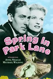Spring in Park Lane Poster