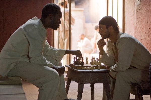 Don Cheadle and Saïd Taghmaoui in Traitor (2008)