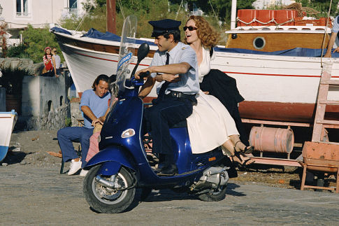 Diane Lane and Emiliano Novelli in Under the Tuscan Sun (2003)