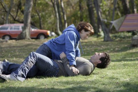 Juliette Binoche and Steve Carell in Dan in Real Life (2007)