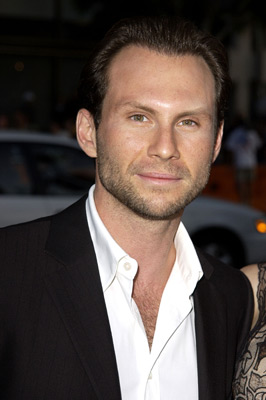 Christian Slater at an event for Windtalkers (2002)