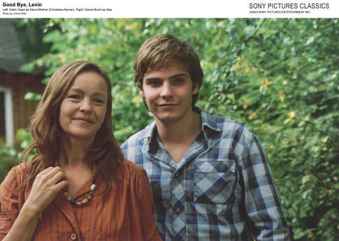 Daniel Brühl and Katrin Saß in Good Bye Lenin! (2003)