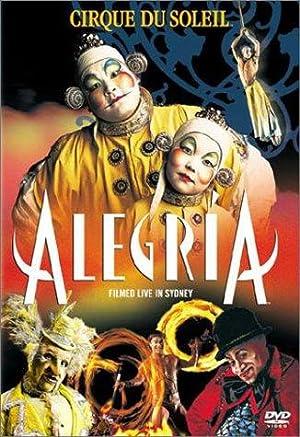 Alegria: Cirque du Soleil poster