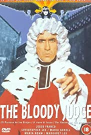 The Bloody Judge Poster