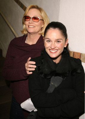 Robin Tunney and Cybill Shepherd at an event for Open Window (2006)