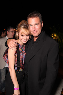 John Corbett and Brie Larson