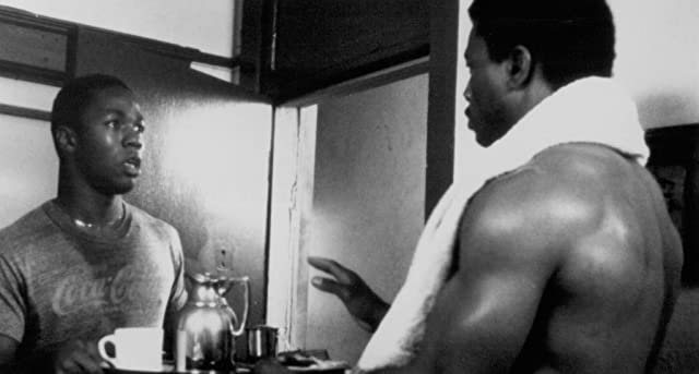 Carl Weathers and Stan Foster in Action Jackson (1988)