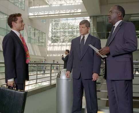 Matthew Glave, Chris Kattan, and Richard Roundtree in Corky Romano (2001)