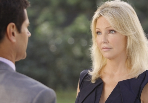 Heather Locklear and Thomas Calabro in Melrose Place (2009)