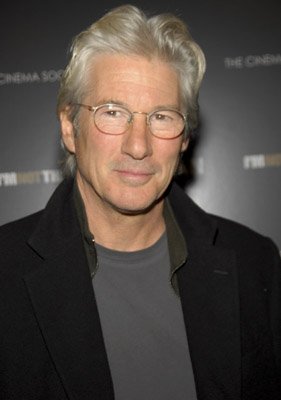Richard Gere at an event for I'm Not There. (2007)
