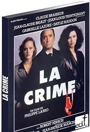 La crime Poster
