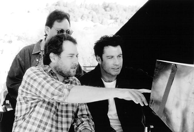 John Travolta and Jon Turteltaub in Phenomenon (1996)