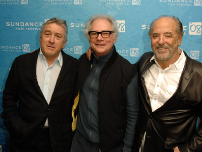 Robert De Niro, Barry Levinson, and Art Linson at What Just Happened (2008)