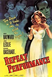 Repeat Performance(1947) Poster - Movie Forum, Cast, Reviews