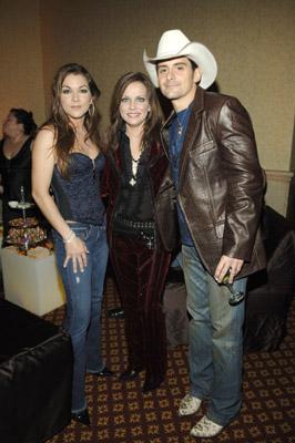 Martina McBride, Brad Paisley, and Gretchen Wilson