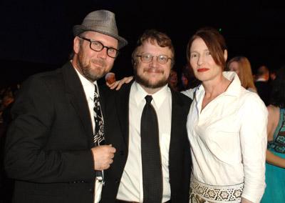 Jonathan Dayton, Valerie Faris, and Del Toro