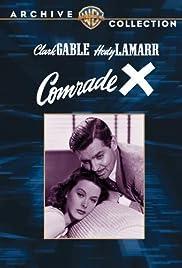 Comrade X Poster