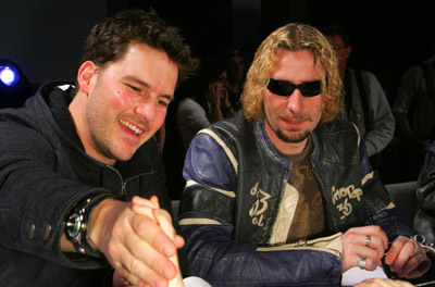 Chad Kroeger and Ryan Peake at The 35th Annual Juno Awards (2006)