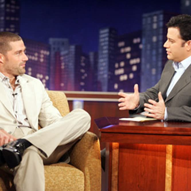 Matthew Fox and Jimmy Kimmel at an event for Jimmy Kimmel Live! (2003)