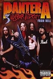 Pantera: 3 Vulgar Videos from Hell Poster