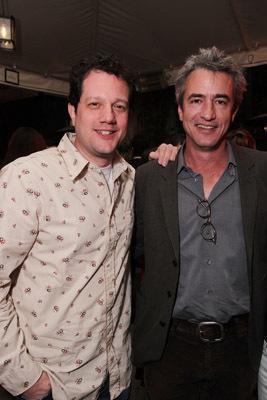 Dermot Mulroney and Michael Giacchino