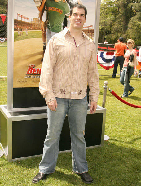 Brandon Molale at The Benchwarmers (2006)