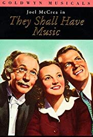 They Shall Have Music(1939) Poster - Movie Forum, Cast, Reviews