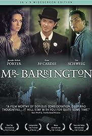 Mr. Barrington Poster