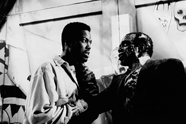 Anthony Griffith and Tom Wright in Tales from the Hood (1995)