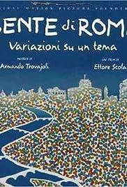 Gente di Roma(2003) Poster - Movie Forum, Cast, Reviews