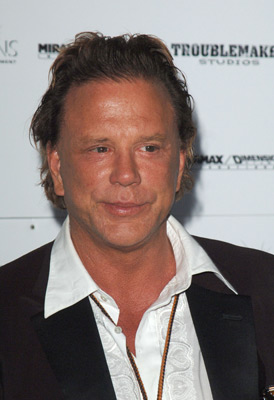 Mickey Rourke at Sin City (2005)