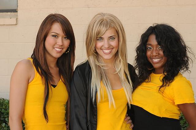 Comfort Fedoke, Katee Shean, and Kherington Payne in Glee: Hairography (2009)