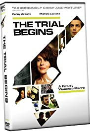 The Trial Begins Poster