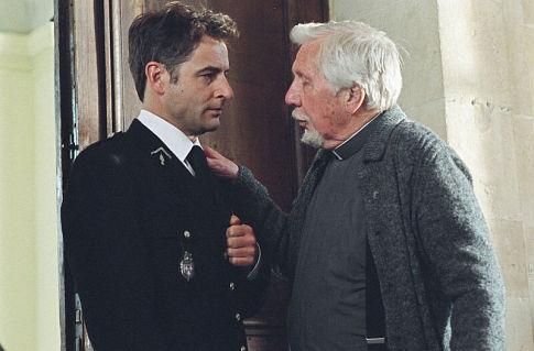 Jeremy Northam and William Hutt in The Statement (2003)
