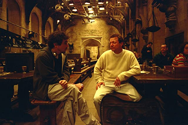 Alfonso Cuarón and Mark Radcliffe in Harry Potter and the Prisoner of Azkaban (2004)