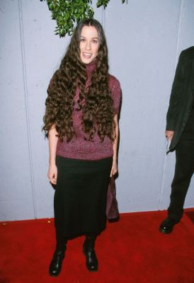 Alanis Morissette at an event for Dogma (1999)