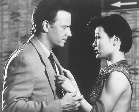 Christopher Lambert and Joan Chen in The Hunted (1995)