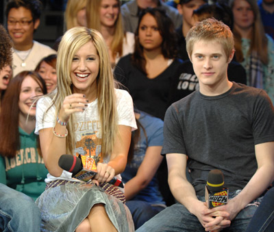 Ashley Tisdale and Lucas Grabeel at High School Musical (2006)
