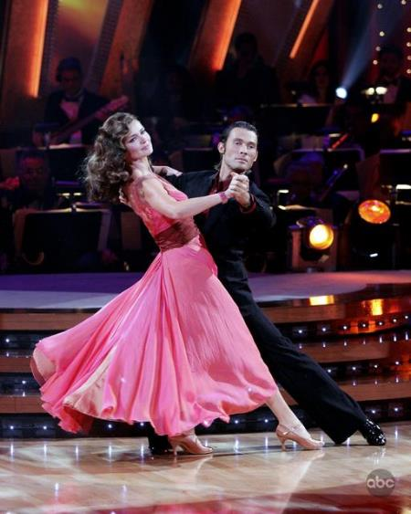 Paulina Porizkova in Dancing with the Stars (2005)